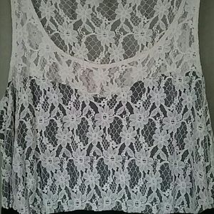 Forever 21 Lace top maxi